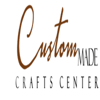 CUSTOM MADE CRAFTS CENTER logo