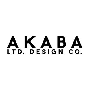 AKABA LTD. DESIGN CO. logo